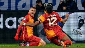 Galatasaray defend crown