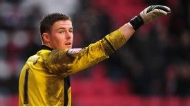 Stoke goalkeeper Jack Butland is gaining experience on loan at Barnsley, but is tipped for a bright future.
