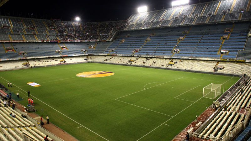 Valencia's current home is the Mestalla
