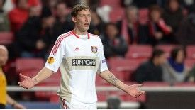 Kiessling has scored more goals than any other German in the Bundesliga this term