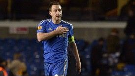 John Terry is no longer one of the first names on the team sheet at Chelsea