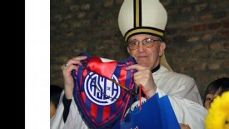 The new Pope, Jorge Mario Bergoglio, is a long-time San Lorenzo supporter