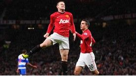 Wayne Rooney and Robin van Persie have formed a formidable partnership for United