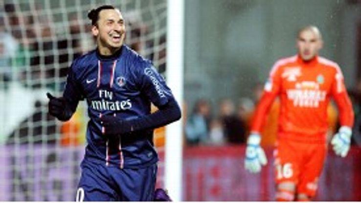 Zlatan Ibrahimovic has had an impressive first season in France