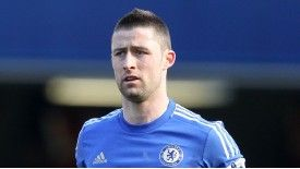 Gary Cahill was out of the Chelsaea team for six weeks after undergoing knee surgery