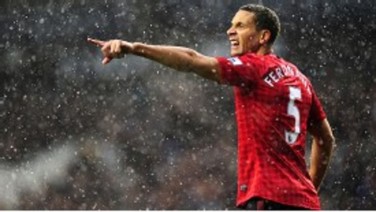 United's Rio Ferdinand withdrew from the England squad