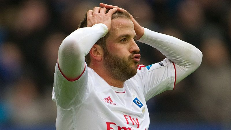 Rafael van der Vaart has been in and out of Netherlands' starting line-up