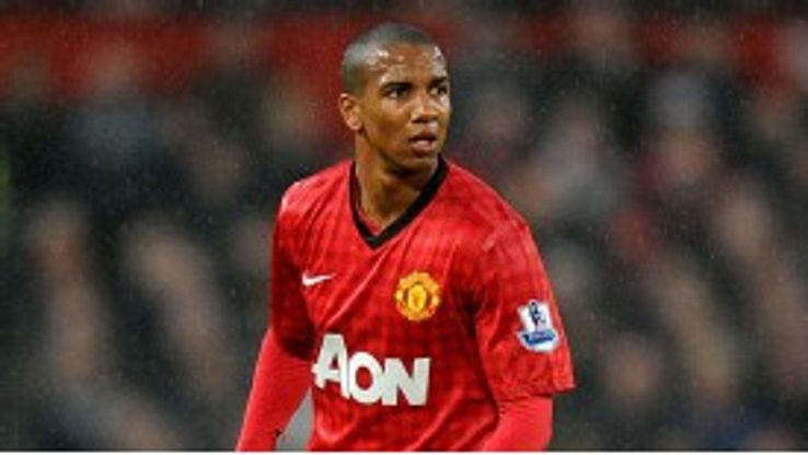 Ashley Young has yet to score for Manchester United this season