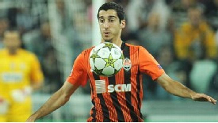 Henrik Mkhitaryan began his career with Pyunik Yerevan and has also played for Metalurh Donetsk