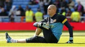 Barcelona goalkeeper Victor Valdes is set to be given a chance to impress against Finland