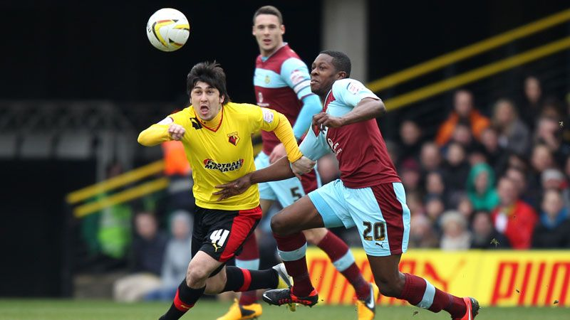 Watford's Fernando Forestieri bagged a brace in the win against Burnley