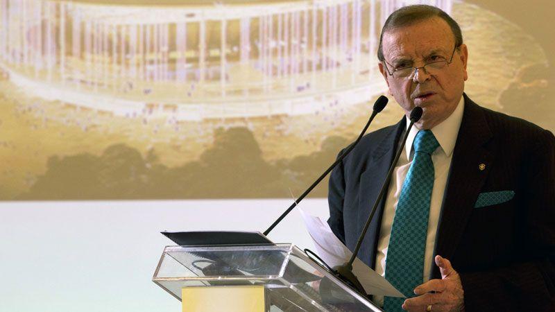 Jose Maria MarinL Brazilian Football Confederation president