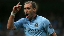 Pablo Zabaleta joined Manchester City in 2008 from Espanyol.