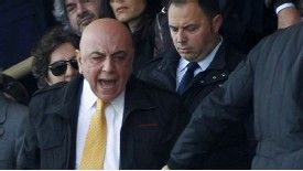 AC Milan vice president Adriano Galliani was provoked into a row with Fiorentina fans