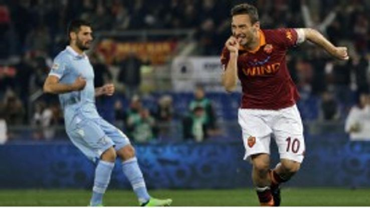 Francesco Totti has hinted that he could be retiring next year.