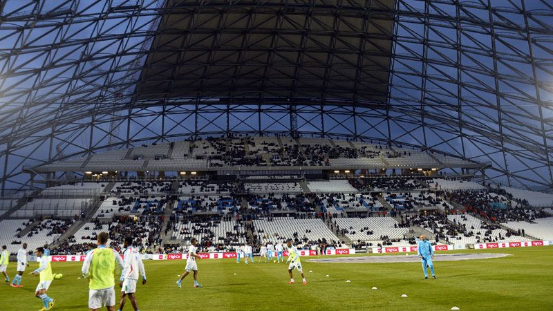 Marseille's Stade Velodrome is undergoing a major redevelopment in time for Euro 2016