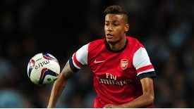 Martin Angha has made two senior appearances for Arsenal