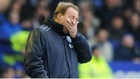 Harry Redknapp's QPR side are staring relegation in the face