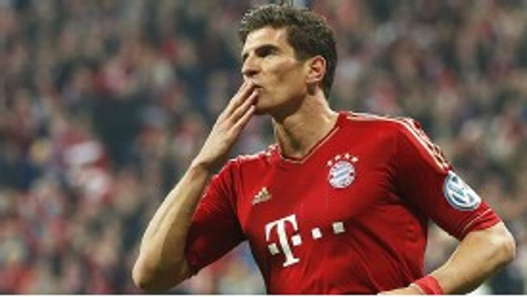 Mario Gomez scored three in just six minutes