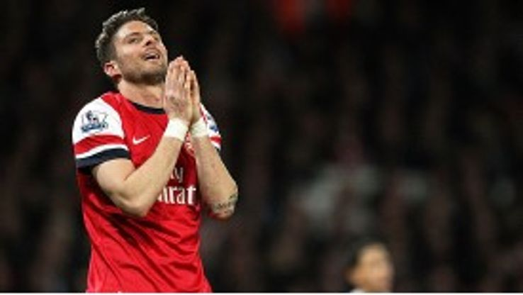 Arsene Wenger believes Olivier Giroud has adapted well to the physical nature of the Premier League