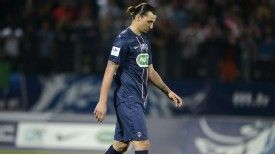 Zlatan Ibrahimovic could miss the game in which PSG are crowned French champions