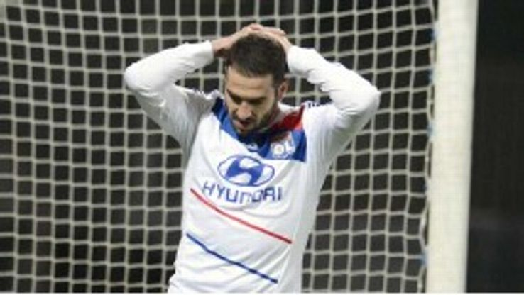 Lisandro Lopez has been frustrated with Lyon's form