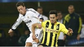Ilkay Gundogan and Dortmund won the first leg 4-1
