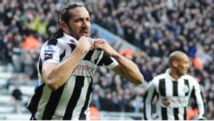 Jonas Gutierrez joined Newcastle United from Real Mallorca in 2008