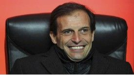 Massimiliano Allegri has been linked with a move to Roma
