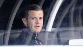 Jack Wilshere was left on the bench against Fulham