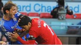 Luis Suarez: Given a ten-match ban for his bite on Ivanovic