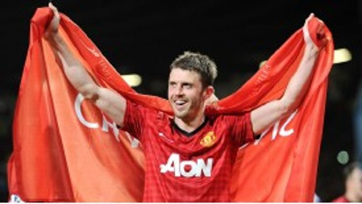 Michael Carrick has won his fifth title since joining United from Tottenham in 2006