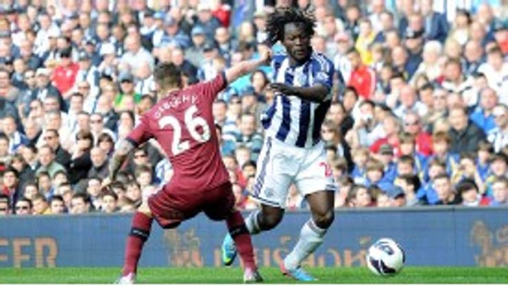 Chelsea striker Romelu Lukaku impressed during his season-long loan at West Brom.