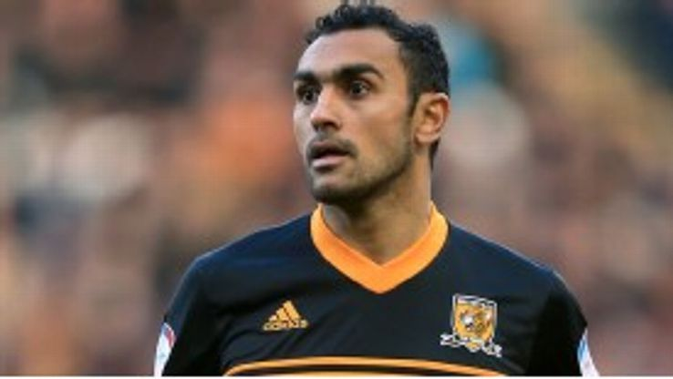 Elmohamady has spent much of the season at Hull across two loan spells