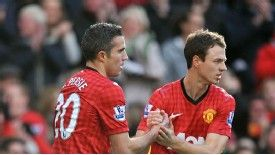 Jonny Evans says Robin van Persie has an aura about him