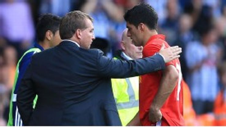 Rodgers believes that the Reds are 'in complete control' of Suarez's future.