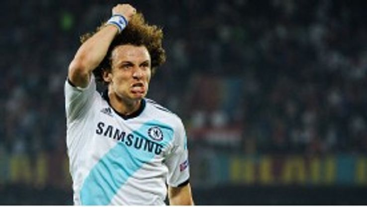 David Luiz's big hair has earned the Chelsea player the nickname of Sideshow Bob