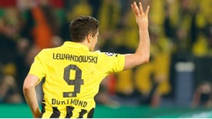 Lewandowski's four-goal haul stunned the media and fans alike
