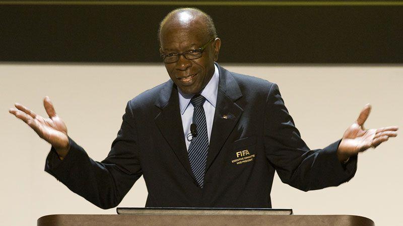 Jack Warner was vice-president at FIFA until 2011