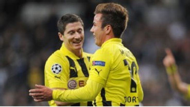 Robert Lewandowski is expected to join Mario Gotze in leaving Borussia Dortmund this summer