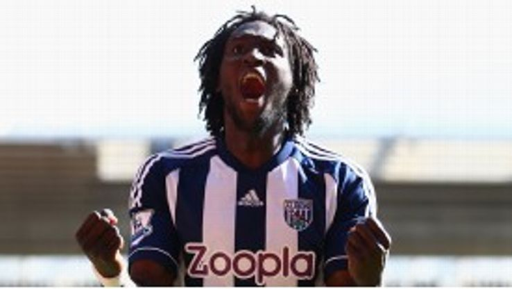 Romelu Lukaku was key to West Brom's successful season.