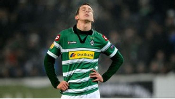 De Jong has been unable to replicate his goal-scoring form at Twente since joining Gladbach