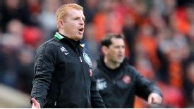 Lennon has voiced admiration for what Hibs have achieved