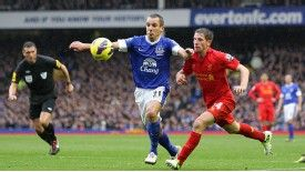 Osman scored his first derby goal in the 2-2 draw at Goodison Park in October