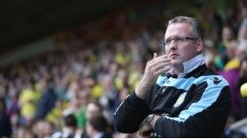 Aston Villa manager Paul Lambert on his return to Carrow Road