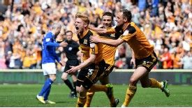 Hull's Paul McShane celebrates his goal against Cardiff
