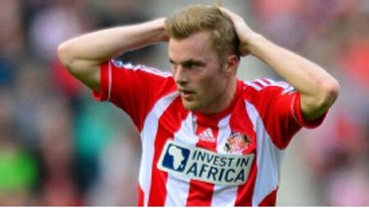Larsson is one of five players in the Sunderland squad to have been relegated before