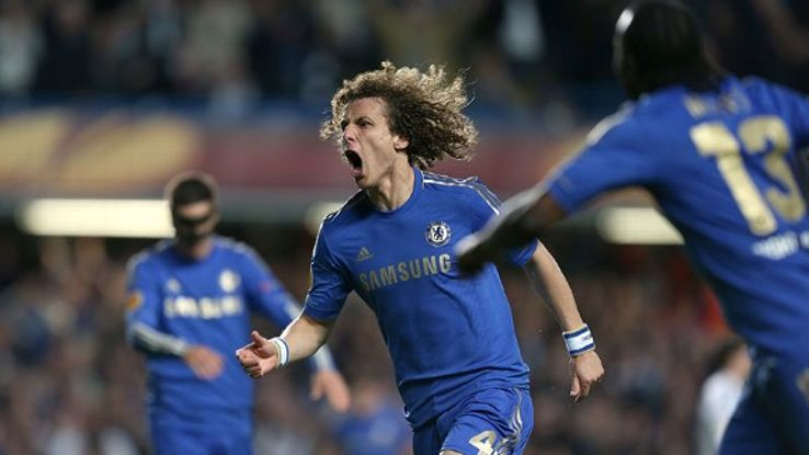 David Luiz is attracting attention across Europe.