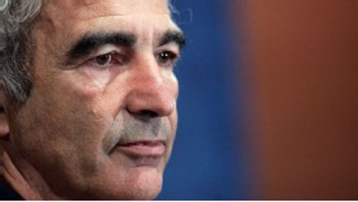 Domenech - and vitamin supplements - helped France to the 2006 World Cup final