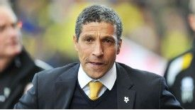 Chris Hughton's Norwich have suffered from a shambolic run of form